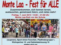 Monte Laa Nachbarschaftsfest 2013 Flyer S1 640