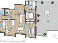 MonteLaa MySky Wien Wohnung 4 Zimmer Plan