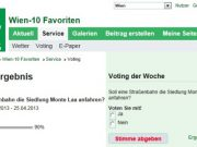 MeinBezirk Favoriten Voting Der Woche 20130524