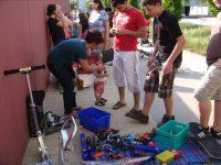 180 Monte Laa Nachbarschaftstag 2009 Flohmarkt