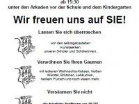20111213 Campus Schule Adventfest 2011 Einladung
