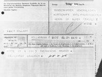Anforderung Von Arbeitskräften Telegrafische Anforderung Von ArbeiterInnen.1964.Archiv Wirtschaftskammer Oesterreich.Wien