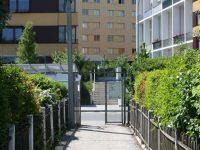 Blick Aus Der Kleingartensiedlung Auf Die Moselgasse 2011