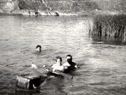 Paddeln Floesslerteich 40erJahre